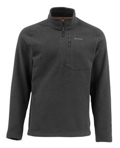 Пуловер Simms Rivershed Sweater Quarter Zip, Black