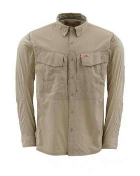 Рубашка Simms Guide Shirt, Cork