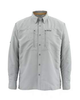 Рубашка Simms Bugstopper LS Shirt Solid, Smoke