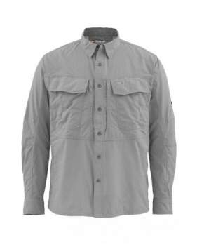 Рубашка Simms Guide Shirt, Concrete