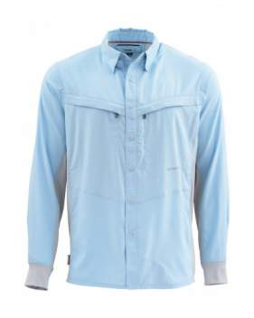 Рубашка SIMMS Intruder Bicomp Shirt, Light Blue