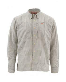 Рубашка Simms Bugstopper Shirt, Dark Slate Plaid