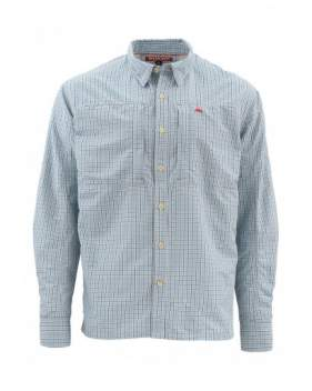Рубашка Simms Bugstopper Shirt, Oxford Blue Plaid