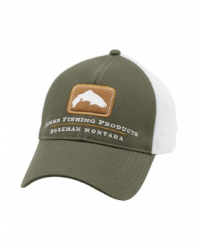 Кепка Simms Trout Trucker Cap, Hunter Green