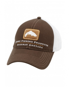 Кепка Simms Trout Trucker Cap, Bark