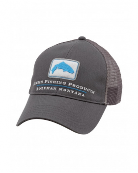 Кепка Simms Trout Trucker Cap, Anvil