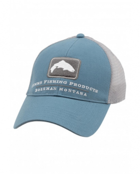 Кепка Simms Trout Trucker Cap, Blue Stream