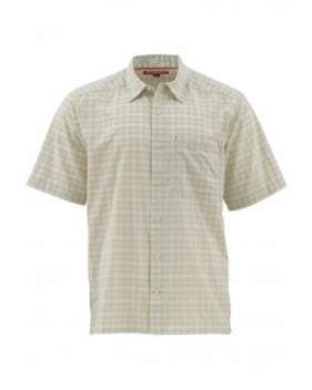 Рубашка Simms Morada SS Shirt, Pale Khaki Plaid