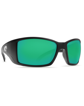 Очки Costa, Blackfin, Green Mirror 580P, Black Frame