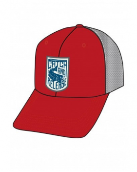 Кепка Simms Patch Trucker Cap, Scarlet