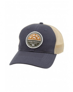Кепка Simms Patch Trucker Cap, Dark Moon