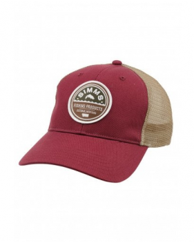 Кепка Simms Patch Trucker Cap, Malbec