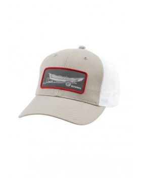 Кепка Simms High Crown Patch Trucker, Drift Cork
