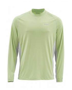 Футболка Simms Solarflex LS Crewneck Solid, Light Green