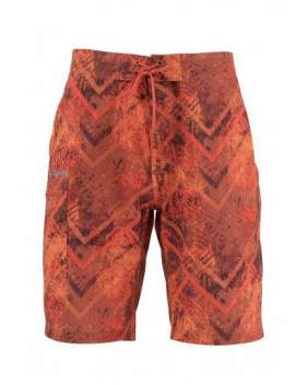 Шорты Simms Surf Short - Print, Velocity Print Orange