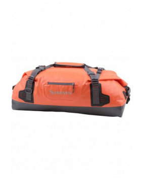 Сумка Simms Dry Creek Duffel Medium, 100L, Bright Orange