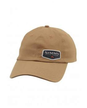 Кепка Simms Oil Cloth Cap, Honey Brown