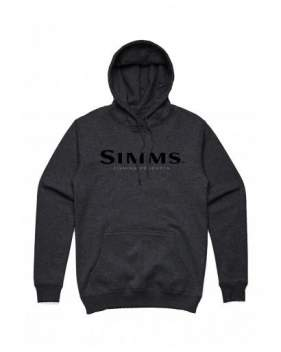 Толстовка Simms Logo Hoody, Charcoal Heather