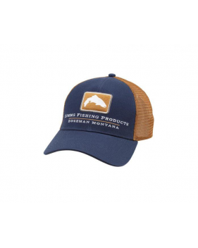 Кепка Simms Trout Icon Trucker, Admiral Blue