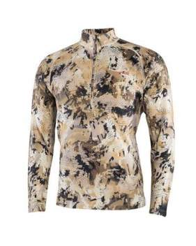 Водолазка Sitka Merino Heavyweight Half-Zip, Optifade Waterfowl