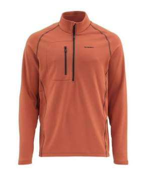 Пуловер Simms Fleece Midlayer Top, Simms Orange