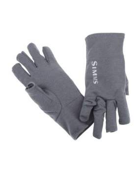 Перчатки Simms Ultra-Wool Core 3-Finger Liner, Carbon