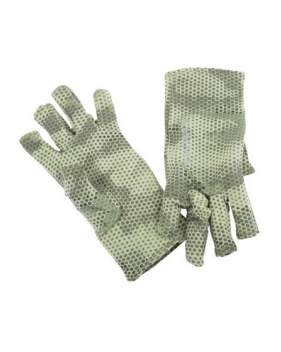 Перчатки Simms Ultra-Wool Core 3-Finger Liner, Hex Camo Loden