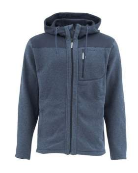 Куртка Simms Rivershed  Full Zip Hoody, Admiral Blue