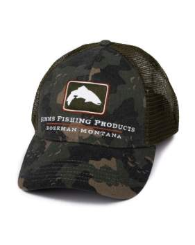 Кепка Simms Trout Icon Trucker, Simms Camo