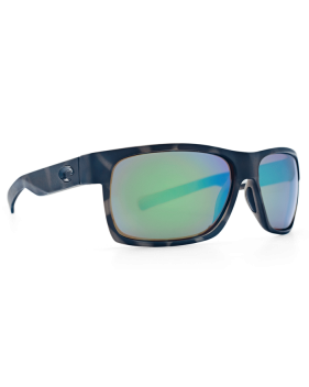 Очки Costa Half Moon, Green Mirror 580P, Ocearch Matte Tiger Shark Frame