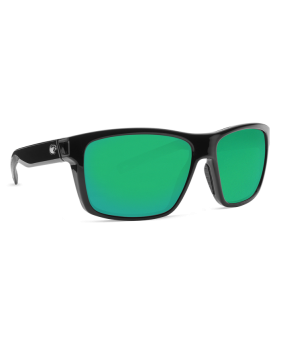 Очки Costa Slack Tide, Green Mirror 580P, Shiny Black Frame