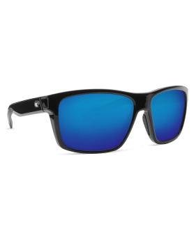 Очки Costa Slack Tide, Blue Mirror 580P, Shiny Black Frame