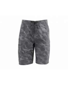 Шорты Simms Surf Short - Print, Hex Camo Carbon