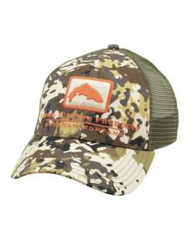 Кепка Simms Trout Icon Trucker, River Camo