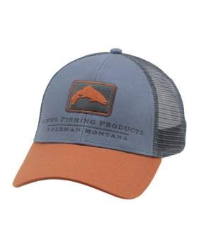 Кепка Simms Trout Icon Trucker, Storm