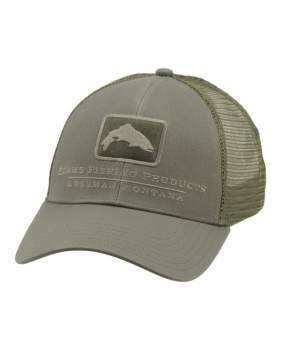 Кепка Simms Trout Icon Trucker, Tumbleweed