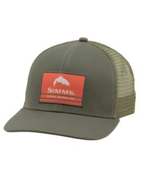 Кепка Simms Original Patch Trucker, Foliage