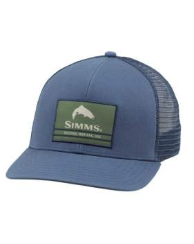 Кепка Simms Original Patch Trucker, Dark Moon