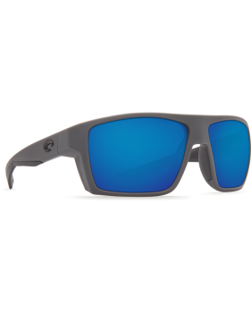 Очки Costa Bloke, Blue Mirror 580P, Matte Gray+Matte Black Frame