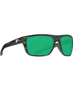 Очки Costa Broadbill, Green Mirror 580P, Matte Reef Frame