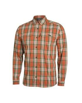 Рубашка Sitka Globetrotter Shirt LS, Canyon Plaid