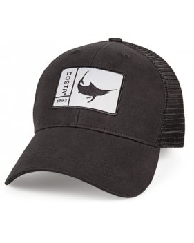 Кепка Costa Original Patch Marlin, Black/Black