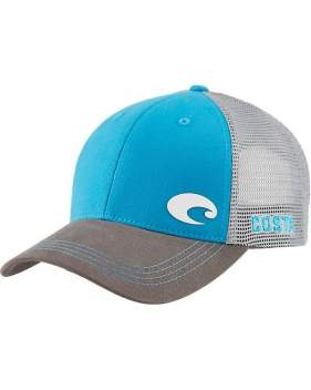 Кепка Costa Offset Logo HD Trucker, Blue/Gray HA 83B