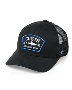 Кепка Costa Chatham Shark Twill Trucker, Black