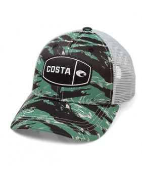Кепка Costa Tiger Camo Trucker, Green