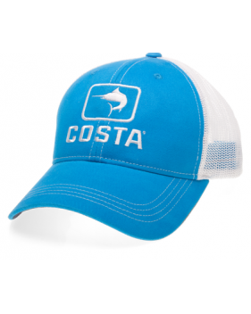 Кепка Costa Marlin Trucker Hat XL, Blue/White HA 16CB