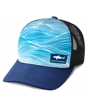 Кепка Costa Ocearch Shark Wave Trucker, Navy