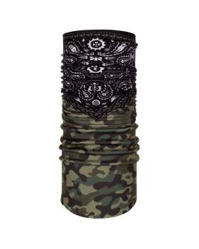 Бандана BUFF Windproof, Camo Cash Multi