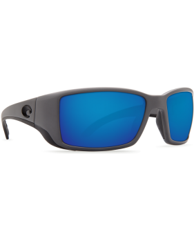 Очки Costa Blackfin Blue Mirror 580P, Matte Gray Frame