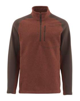 Куртка Simms Rivershed Sweater, Rusty Red